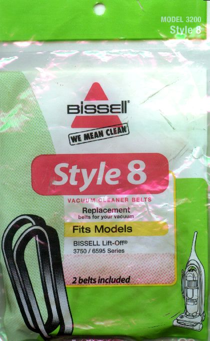 Bissell Style 8 & 14 Belt 2 Pack (PN 3200) at Sears.com