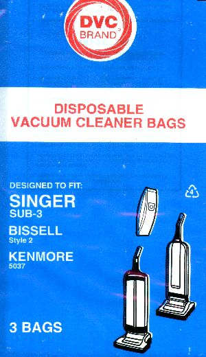 Bissell Style 2 Bag Generic 3 Pack at Sears.com