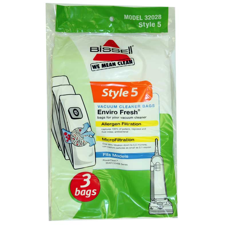 Bissell Style 5 Bag Enviro Fresh 3 Pack (PN 32028) at Sears.com