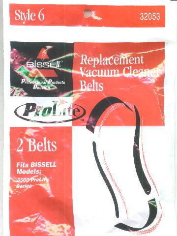 Bissell Style 6 Belt 2 Pack (PN 32053) at Sears.com
