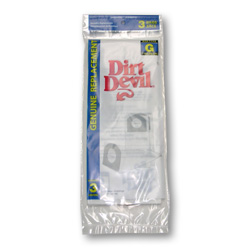 Dirt Devil Type G Bag 3 Pack (PN 3-010347-001) at Sears.com