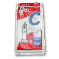 Dirt Devil Type C Bag 3 Pack (PN 3-700147-001) at Sears.com