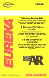 Eureka Style AR / GE CN-1 Belt 2 Pack (PN 58065) at Sears.com