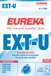 Eureka Style U Belt Extended Life 2 Pack (PN 61120) at Sears.com