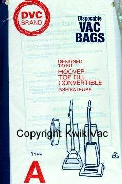 Hoover A Bag Generic 3 Pack at Sears.com