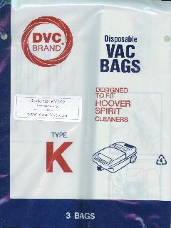 Hoover K Bag Generic 3 Pack for Canisters at Sears.com