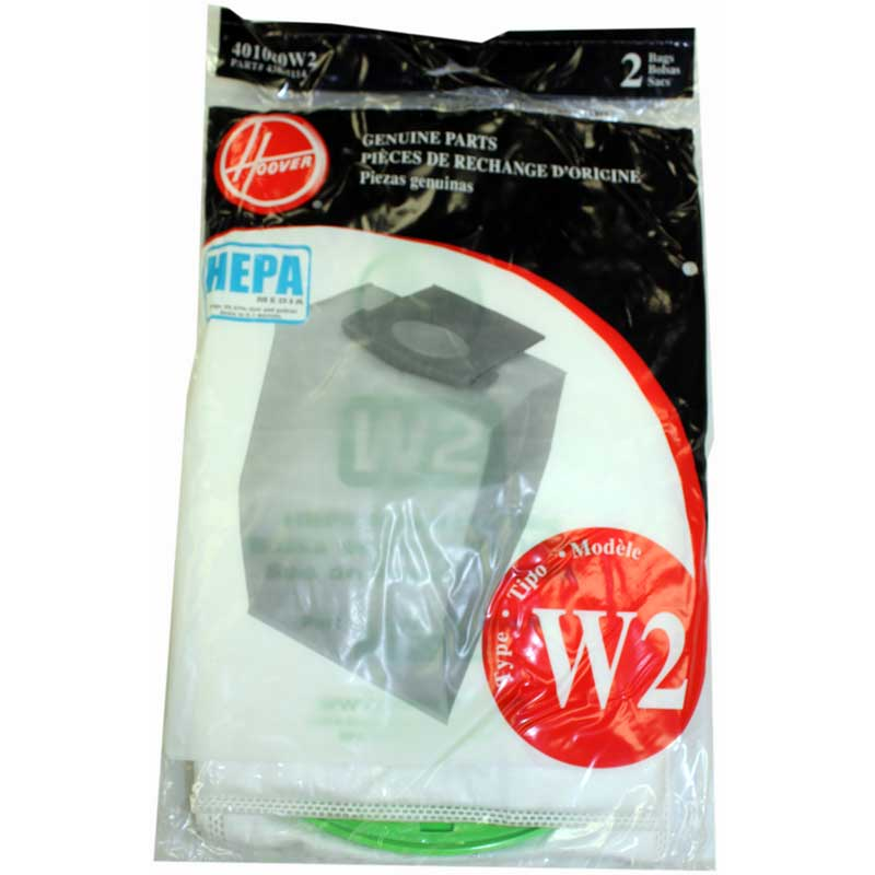 Hoover W2 HEPA Bag 2 Pack for WindTunnel 2 Only (PN 401080W2) at Sears.com