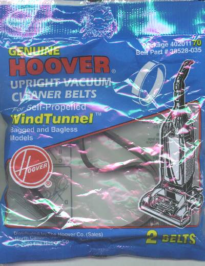 Hoover WindTunnel Belt Self-Propelled Drive 2 Pack (PN 40201170) at Sears.com