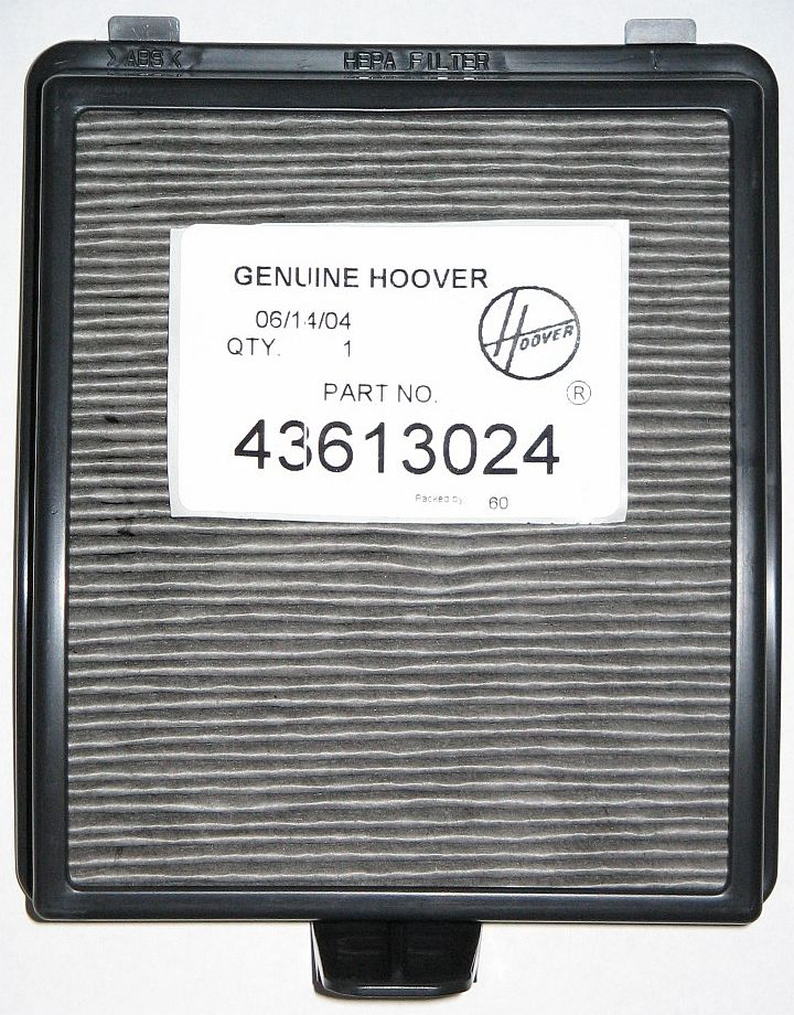 Hoover WT V2/Dual V/Savvy HEPA Filter 1 Pk (PN 43613024 or 40120102) at Sears.com