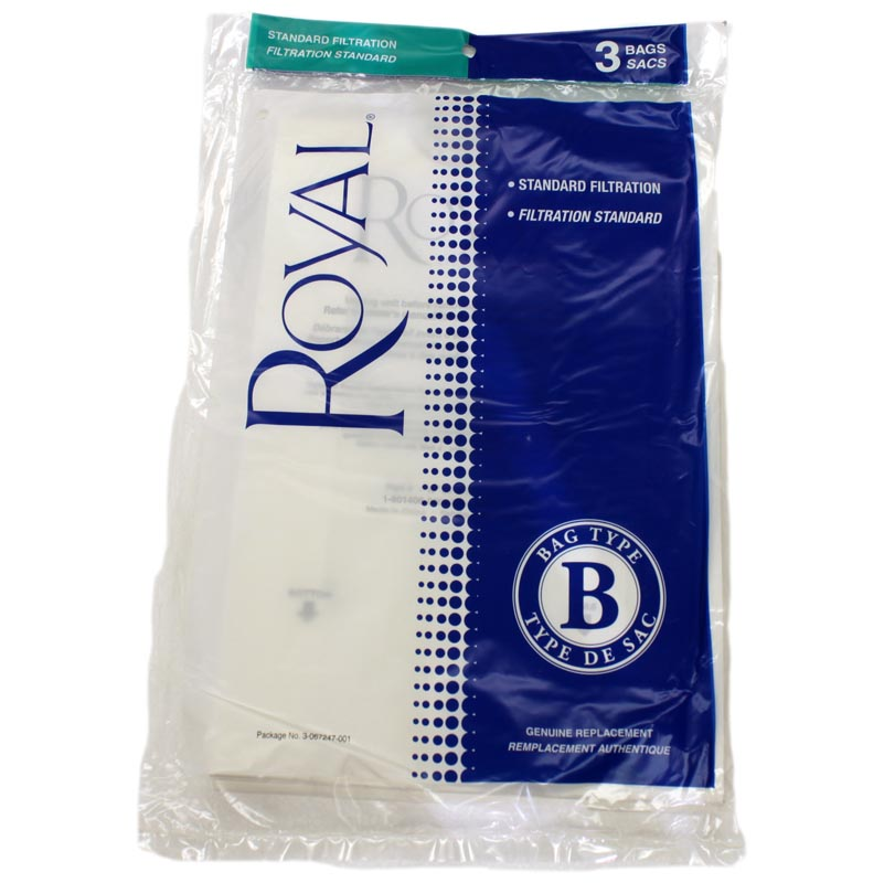 Royal Type B Bag 3 Pack (PN 3-067247-001) at Sears.com