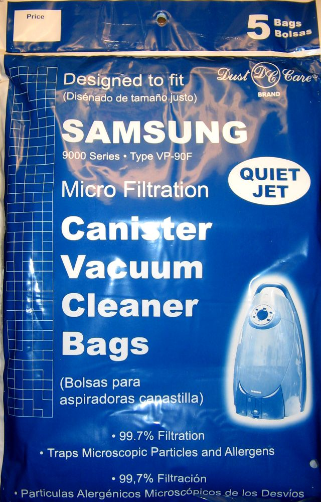 Samsung 9000 Canisters Generic Allergen Bag 5 Pack at Sears.com